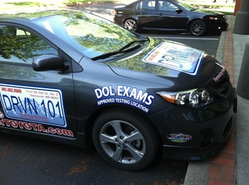 One of Our DOL Exam Ready Drive Cars