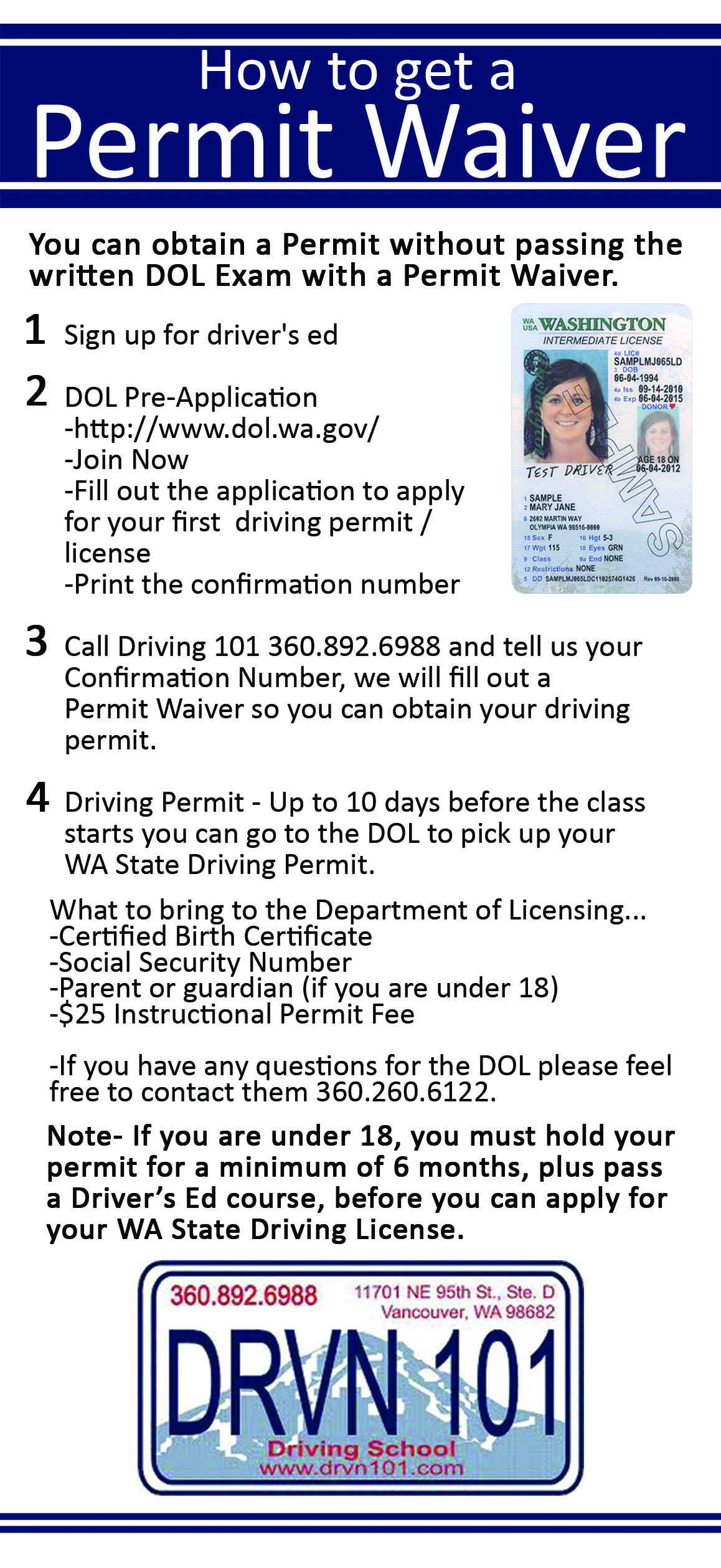 How to get a wa state instructional permit downloadable version 1betcityfo Choice Image